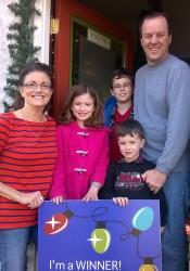 The Nielsen family. Photo via Roeland Park.