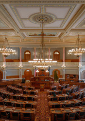 The Kansas House of Representatives.