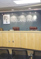 Roeland Park council chamber