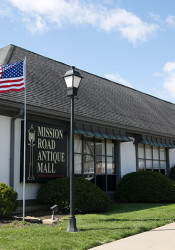 First Washington's concept for the redevelopment of Corinth Square South would require the demolition of the Mission Road Antique Mall building.