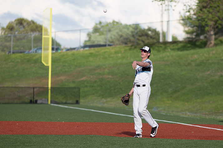 SM East's Joey Wentz is Sunflower League Player of the Year for the second year in a row.