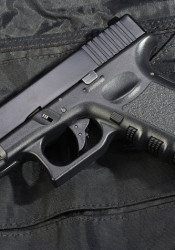 A Glock similar to the gun used in the Hesston, Kan., shootings.