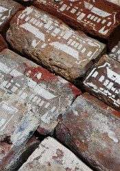 Bricks from the original 1939 school building will be on sale at the Prairie Elementary open house to raise money for a wooden gym floor.