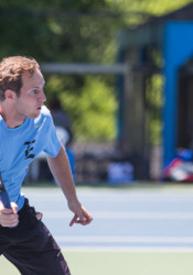 SM East's Jack Santilli made it to the state 6A singles title game for the third year in a row.