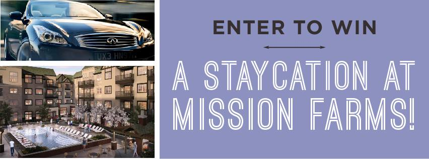 Need a break? It\'s easy to register for fabulous Mission Farms ...