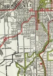 During the last century, a rail transit system ran through Johnson County.