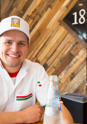 1889 Pizza Napoletana Owner Jason Kolich took a special class in Italy to learn the finer points of authentic Neapolitan pizza crafting.