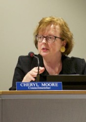 Merriam Councilor Cheryl Moore was an ardent proponent of adding a city limb pickup service.