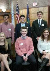 The first teen council.