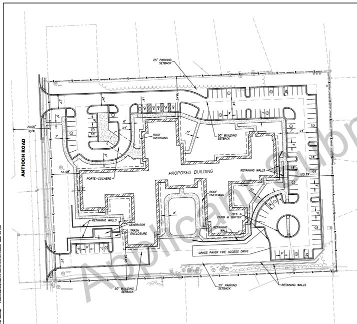SMH building layout