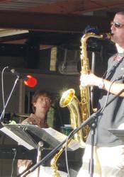 Dan Thomas and Voyage take the Prairie Village Jazz Festival Stage at 7 p.m. Saturday.