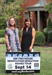 Julie Blumenthal (left) and Ashley Pindell are coordinators for this year's Renovation Sensation fundraiser for the SME SHARE program