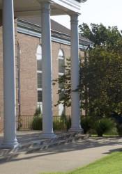 Prairie Baptist Church at 75th and Nall.