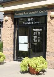 The Roeland Park Aquatic Center.
