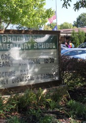 Brookwood Elementary School is being replaced with a new building.