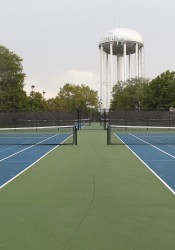 Prairie Village is now charging schools to use tennis courts at Harmon Park.
