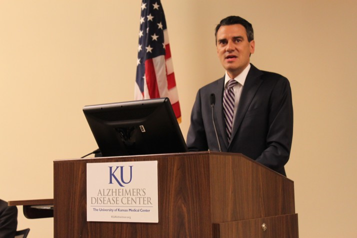 Kevin Yoder Appeared At The KU Medical Center Research Facility In Fairway  Last