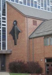 Faith Lutheran Church at 67th and Roe.