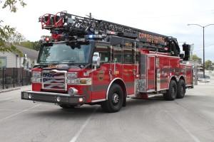 CDF2 aerial ladder truck
