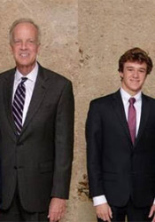 Sen. Jerry Moran has nominated two young men from Northeast Johnson County to the U.S. service academies, Luke Kuklenski (left) and William McConwell.