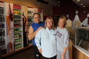 The Mission Smoothie King will be operated by (from left) Danny and Joellen Spini and Pattie Cali.