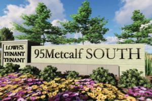 Metcalf South sign