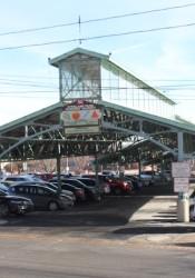 Overland Park Farmers Market pavilion.