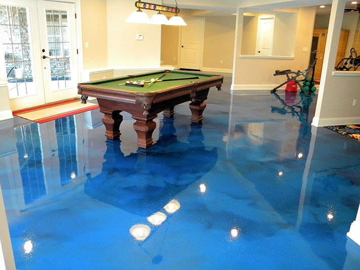 Epoxy The Hidden Gem Of Basement Flooring Options