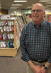 Owner Bob Harsh says he decided it was time to retire after 52 years of running the card shop in Prairie Village.