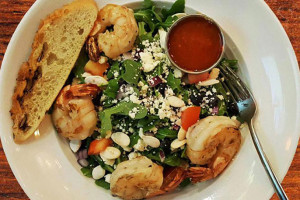 The shrimp and feta salad from C. Frogs Restaurant Week lunch menu.
