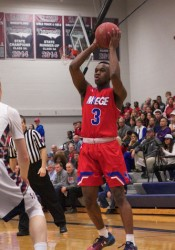 Bishop Miege's Semaj Ray was one of seven players from the state of Kansas nominated for the McDonald's All-American game.