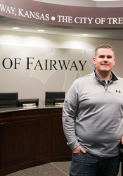 Brice Soeken is Fairway's new Parks and Recreation Director.