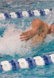Shawnee Mission East's PJ Spencer cut down his 100-yard freestyle time by seven tenths on Tuesday, but is still two tenths shy of the 51.35 needed to qualify for state.