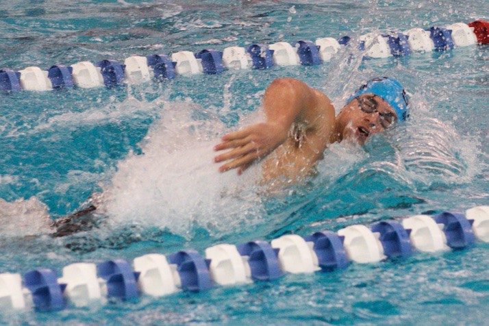 Shawnee Mission East Swim Bests Blue Valley North In Class