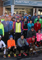 Fleet Feet Sports, which organized group runs and training programs, will close at the Village Shops in February. Photo via Facebook.