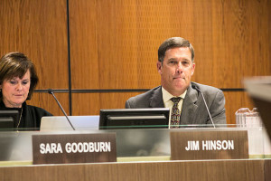Superintendent Jim Hinson.