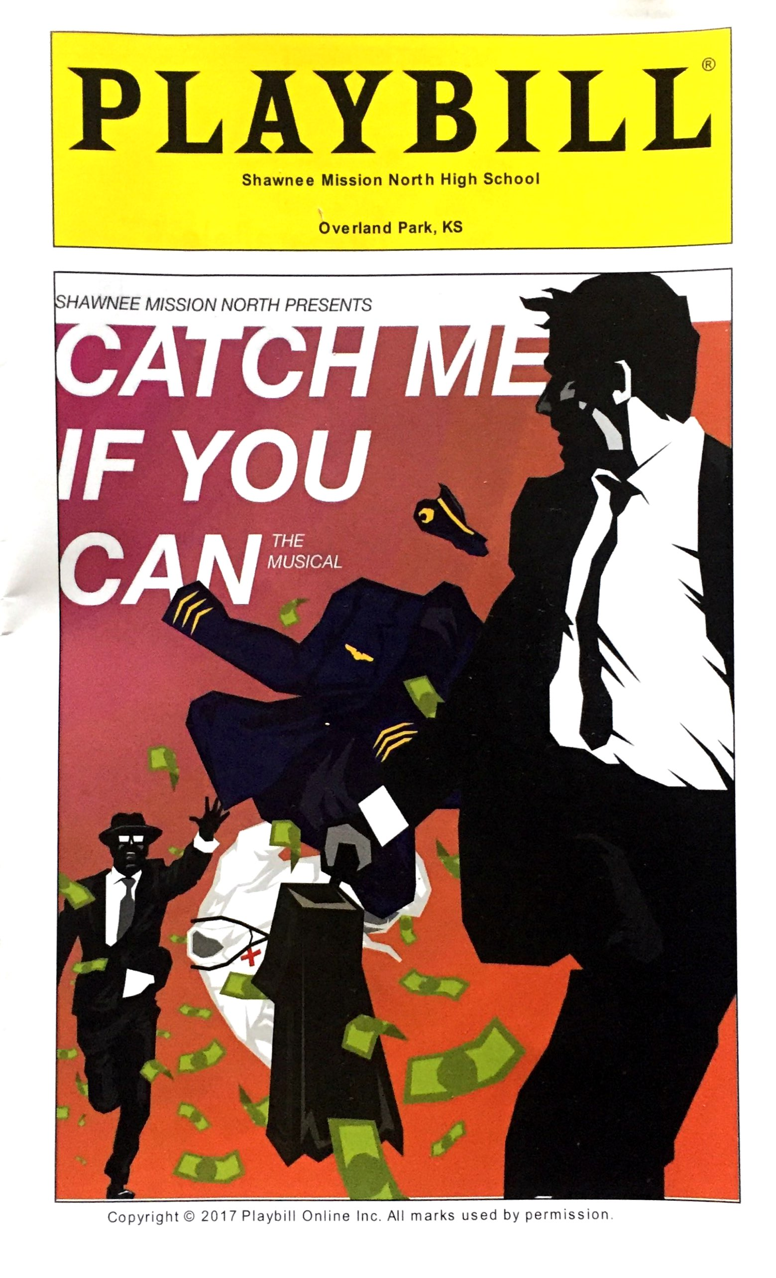 Shawnee Mission North Theatres Winter Musical Catch Me If You Can