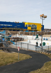 The existing Merriam Aquatic Center would be the site of a new $30 million community center and pool complex if city voters approve a ballot initiative late this summer.