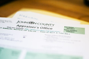 Notices of valuation from the Johnson County Appraiser's Office have been hitting mailboxes this week.