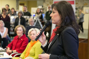Rep. Melissa Rooker at a legislative forum earlier this year.