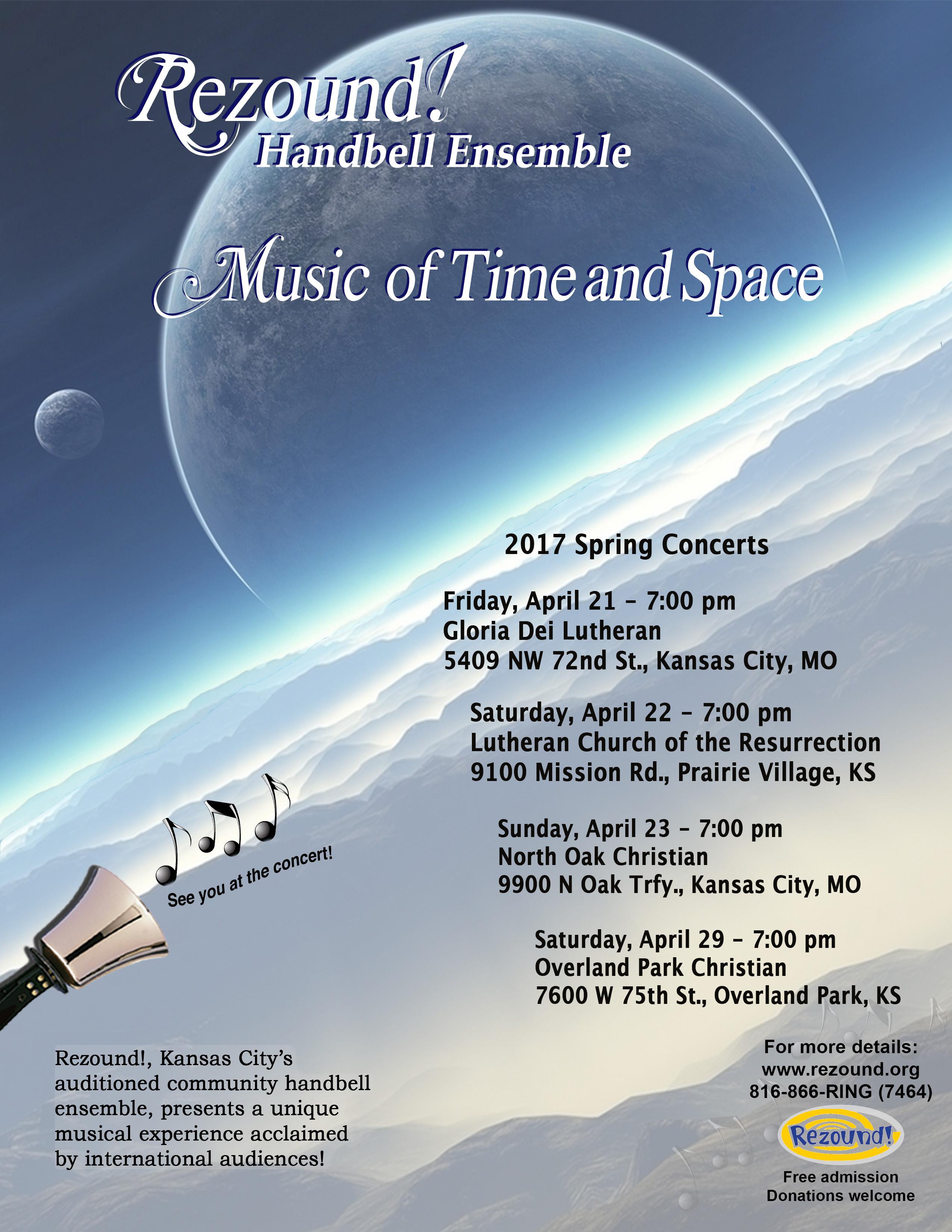Kansas johnson county prairie village - Rezound Handbell Ensemble In Concert