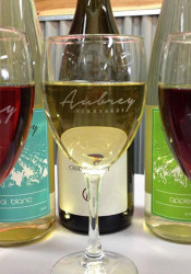Aubrey Vineyards will be among the Kansas wineries providing beverages at the event. Photo via Facebook.