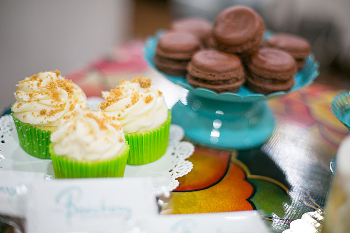 Key lime cupcakes and macaroons are among the recipes Fullerton offers.