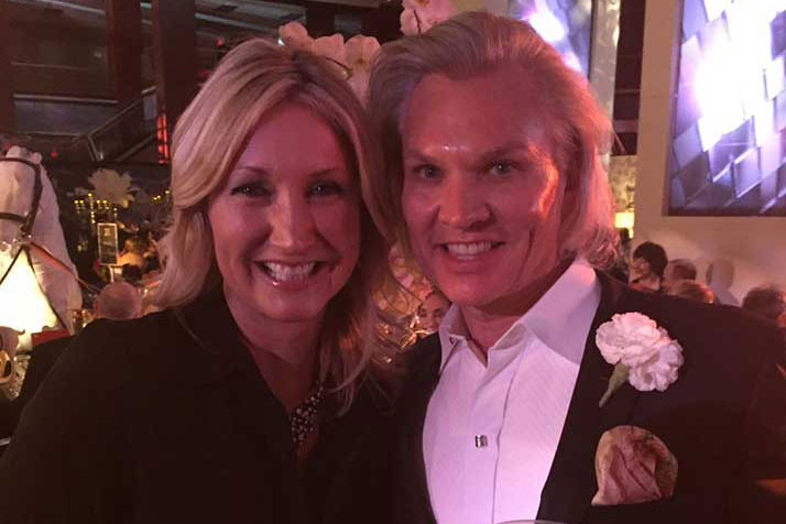 Brett and Matney at the 2015 Dining by Design gala.