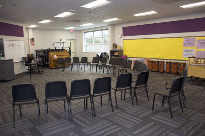 Crestview music room