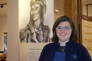 Jennifer Laughlin is the curator of the Shawnee Indian Mission now that Fairway has taken over administration of the site.
