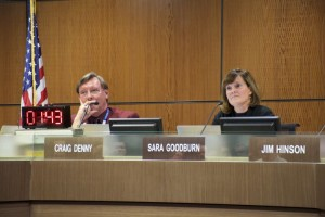 The school board Monday listened to more than 20 comments from the public. Comments were limited to three minutes and timed.