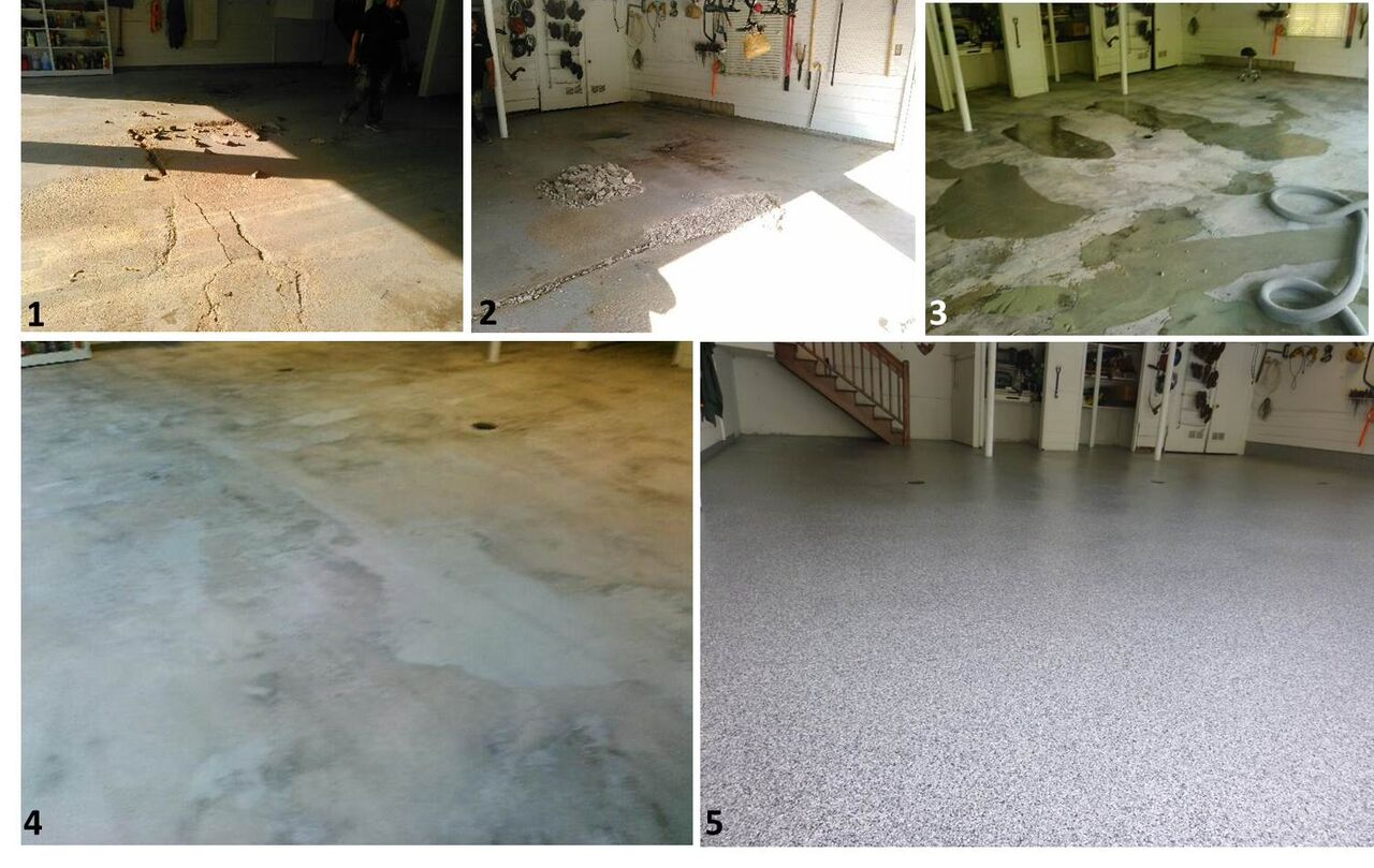 brianhead ut portfolio granite car item brimhall garage epoxy coating floor floors