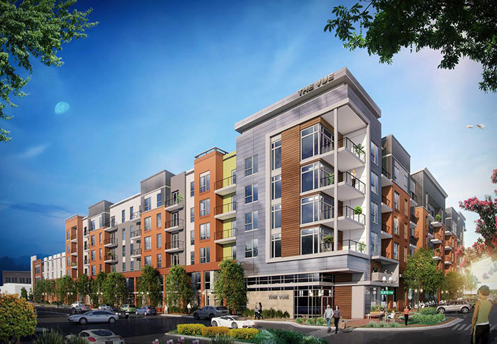 hunt midwest formally breaks ground on luxury apartment complex in