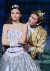 Savanna Worthington as Cinderella in SM East's 2016 musical. Photo courtesy SM East Theatre Department.